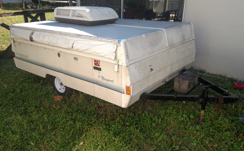 1991 Coleman Newport Pop-up Camper Leak Repair