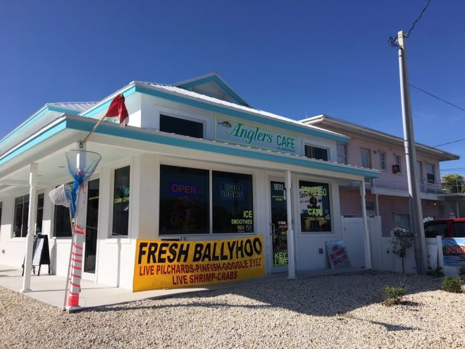 Anglers Cafe Storefront