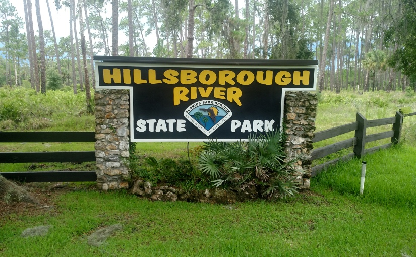 Camping at Hillsborough River State Park